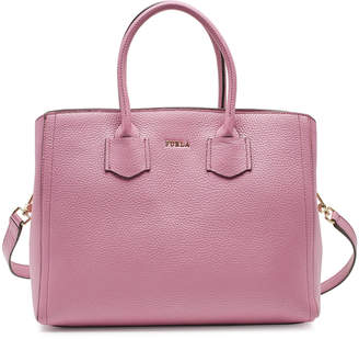 Furla Alba M Leather Tote