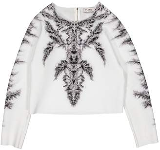 Byblos White Synthetic Knitwear