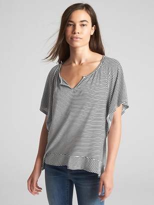 Gap Flutter Sleeve Smock Top