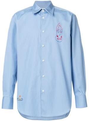 Vivienne Westwood stitch details shirt