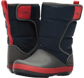 Crocs LodgePoint Snow Boot Kids Shoes