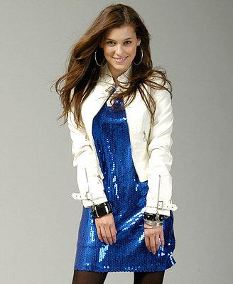 Sequin Soiree Dress