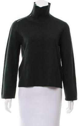 Celine Long Sleeve Wool-Blend Sweater