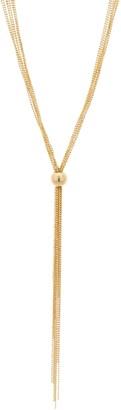 "Italian Silver Multi-Strand Tassel 30"" Necklace 20.0g"