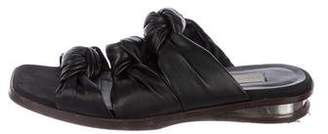 Stella McCartney Vegan Leather Slide Sandals