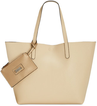 Style & Co Clean Cut Reversible Tote with Wristlet, Only at Macy's $88.50 thestylecure.com