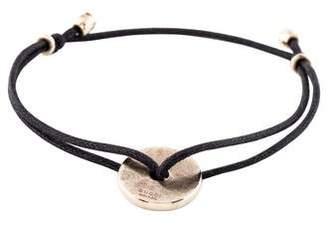 Gucci 18K Cord Bracelet