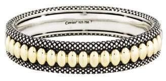 Lagos Two-Tone Hinged Bracelet