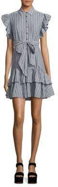 Rebecca Taylor Yarn-Dyed Striped Dress $375 thestylecure.com