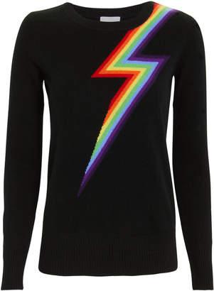 Madeleine Thompson Styx Rainbow Sweater