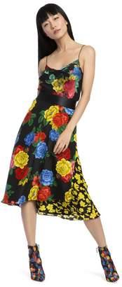 Alice + Olivia Harmon Floral Slip Tank