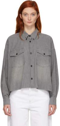 Etoile Isabel Marant Grey Lelora Shirt