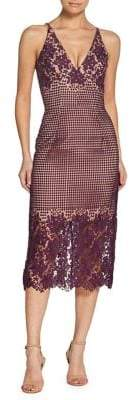 Dress the Population Aurora V-neck Lace Sheath Dress