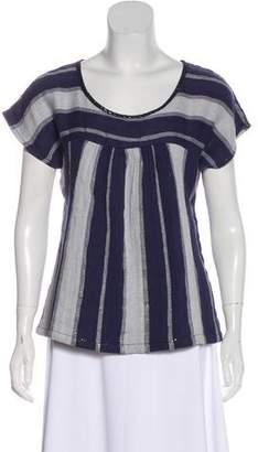 Ace&Jig Metallic Striped Top