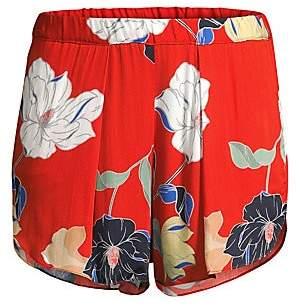 MAISON DU SOIR Women's Firenze Floral Shorts