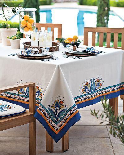 Mediterranean Tablecloths