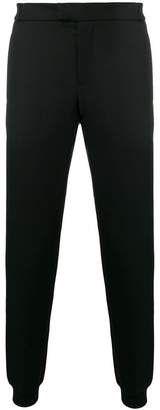 Les Hommes mid rise tapered trousers