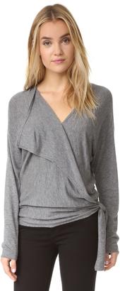 Ella Moss Brenna Wrap Sweater $195 thestylecure.com