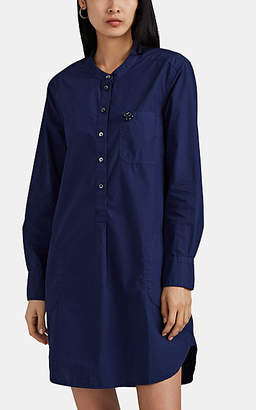Alex Mill Women's Cotton Poplin Shirtdress - Navy