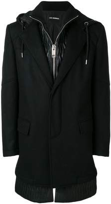 Les Hommes double layered coat