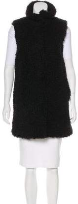 Theory Textured Longline Vest