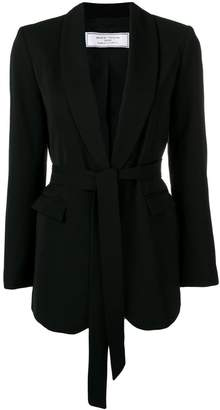 Societe Anonyme belted longline jacket