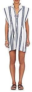 Etoile Isabel Marant WOMEN'S DENIZE STRIPED COTTON SLEEVELESS DRESS