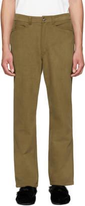 Acne Studios Khaki Acer Trousers