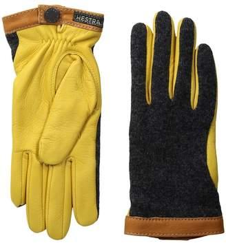 Hestra Deerskin Wool Tricot Dress Gloves