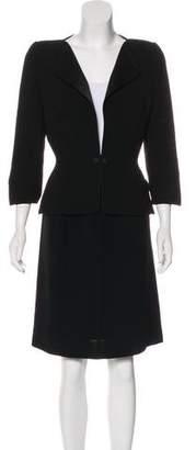 Thierry Mugler Long Sleeve Skirt Set