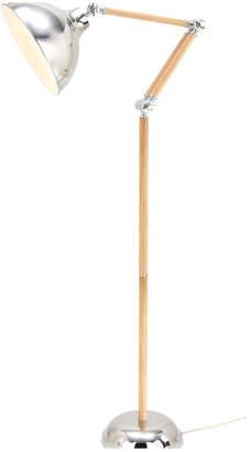 Uma Enterprises Wood Metal Floor Lamp