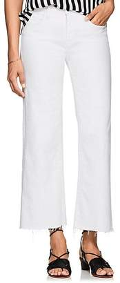 L'Agence Women's Danica Crop Jeans - White