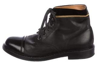 Marc Jacobs Cap-Toe Ankle Boots