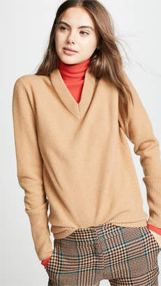 Joseph High Neck Double Knit Sweater