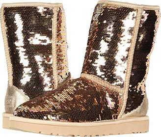 UGG Women's W Classic Short Sequin Fashion Boot