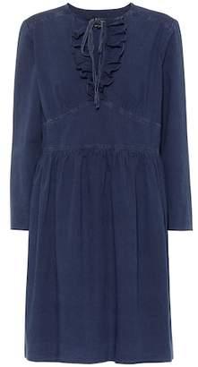 f7e4f2da549 A.P.C. Poppy cotton chambray dress