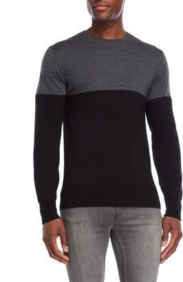 Slate & Stone Wool Color Block Sweater
