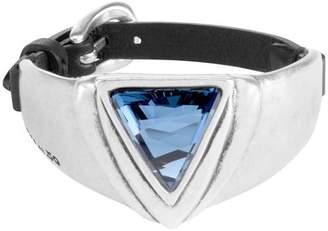 Uno de 50 Superunos Leather Swarovski Elements Bracelet