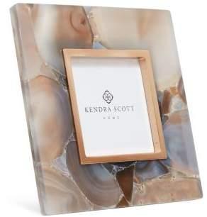 "Kendra Scott Square Stone Slab Photo Frame, 4"" x 4"""