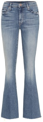 Mother The Weekender high-rise flared jeans