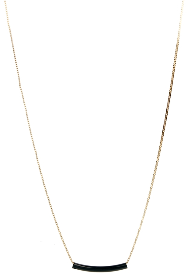 Asos Limited Edition Long Tube Necklace