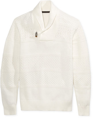 Sean John Men's Shawl-Collar Sweater, Only at Macy's $109.50 thestylecure.com