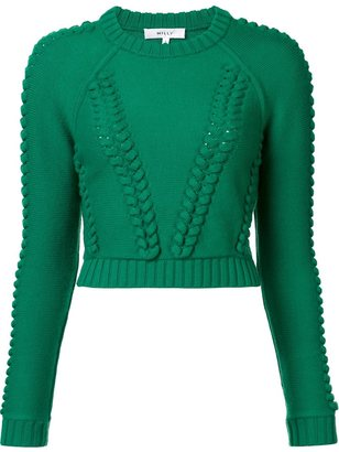 Milly cropped jumper $295 thestylecure.com