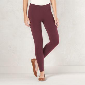 Women's LC Lauren Conrad Solid Leggings $20 thestylecure.com