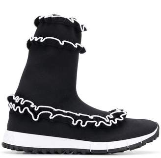 Jimmy Choo Eugene hi-top sneakers