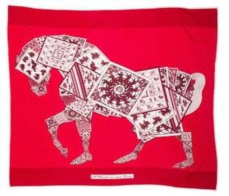 Hermes Silk Jersey Scarf