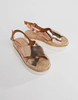Asos DESIGN TYSON Flatform Sandals