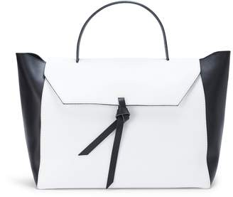 Alexandra de Curtis JK Satchel Black & White