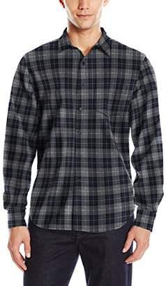 Joe's Jeans Men's Relaxed Orimono Plaid Button Down Shirt