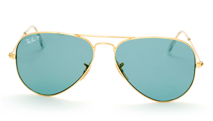 Ray-Ban Gold/blue Aviator